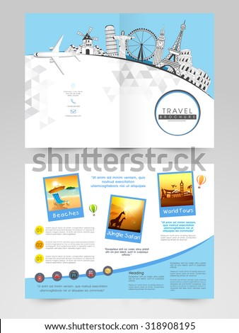 creative brochure template flyer design illustration のベクター画像