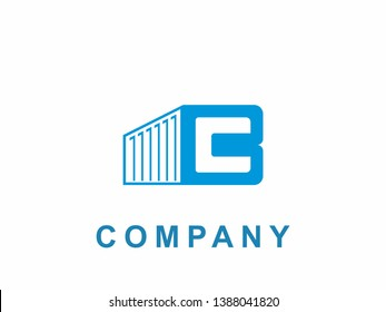 creative buildings containers box logo