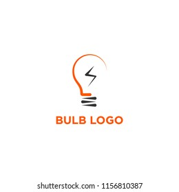 creative bulb logo, smart, idea logo vector