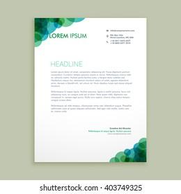 creative business letterhead identity