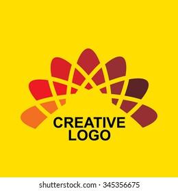 creative business logo concept vector