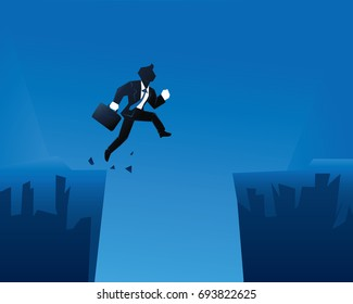 Creative Business Start Up Strategy Tips Illustration Concept - Be A Passionate Risk Taker