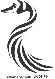Creative Canada Goose Illustration