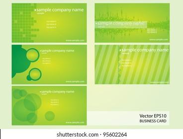 creative card vector