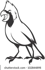 Creative Cardinal Bird Illustration