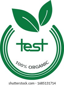 Creative, Catchy, and modern logo for your organic products.