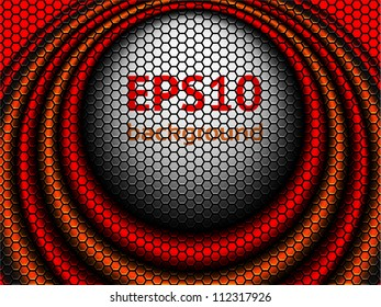 a creative center stage background, eps10 vector background