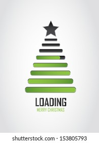 creative Christmas loading icon
