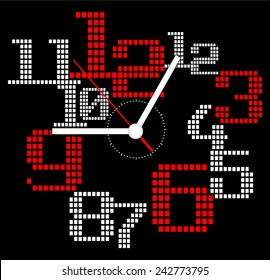 Creative clock modern design