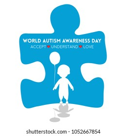 Creative Concept Vector Il Ration For World Autism Awareness Day Can Be Used For Banners