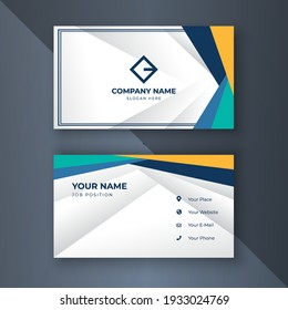 Creative coorporate business card Template modern and Clean design
