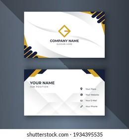 Creative coorporate business card Template modern