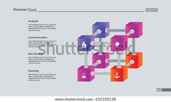 Creative Cube Diagram Slide Template