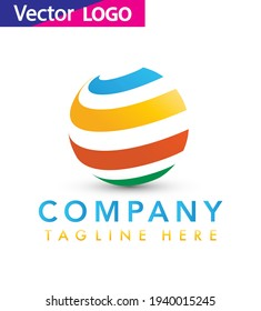 Creative cube logo icon for your business , Colorful vector logo design template