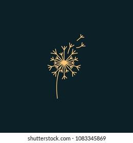 Creative Dandelion Design Vector