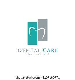 Creative Dental Concept Logo Design Template
