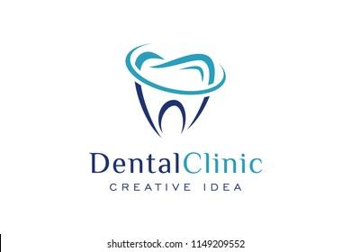 Creative Dental Logo Design Template