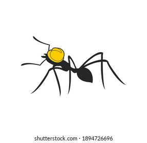 Creative design of ant worker