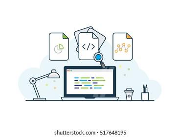 Creative Design & Code desk