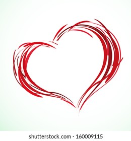 Creative design heart