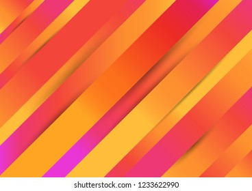 Creative design minimalistic colorful background, stock vector