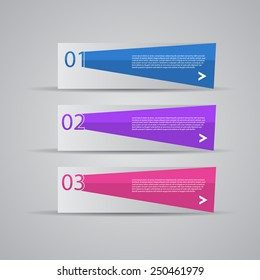 Creative Design template / number banners.