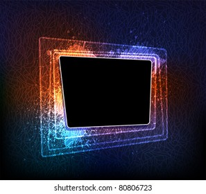Creative design vector banner. eps10 layered vector file
