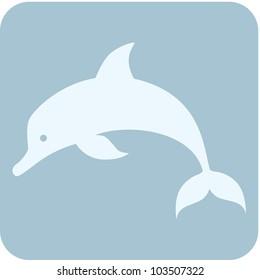 Creative Dolphin Icon