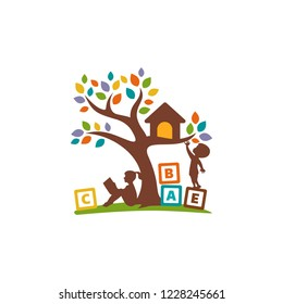 Creative Education Logo Design Template