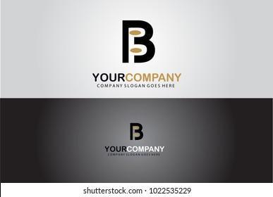Creative Elegant Abstract Letter B Alphabet Symbol