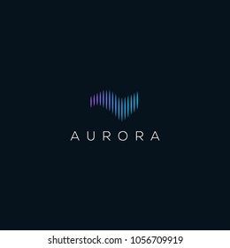 Creative example logo names, aurora logo designs