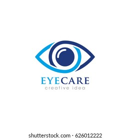 Creative Eye Concept Logo Design Template