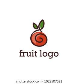 Creative Fruit Logo Design