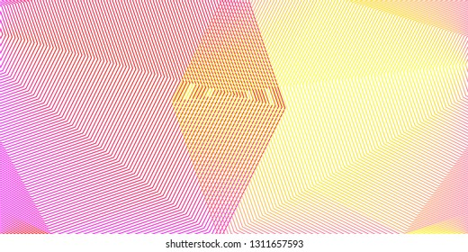 Creative geometric background, poster design template, landing page, abstract web banner, vector illustration