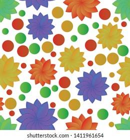creative geometric, minimalis flat line pattern