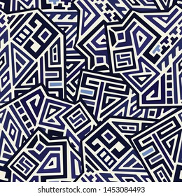 Creative Geometric Vector Seamless Pattern