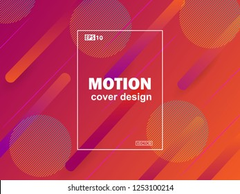 Creative geometric wallpaper. Trendy gradient shapes composition. Futuristic design posters. Eps10 vector.