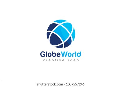 Creative Globe Logo and Icon Template