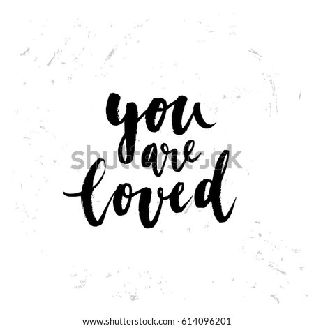 creative graphic template brush fonts inspirational stock vector