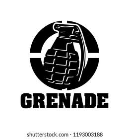 Creative Grenade Logo Design. Grenade Logo Template Ready to Use. Grenade Vector