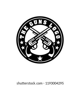 Creative Gun Logo Design. Gun Logo Template Ready to Use. Gun Vector