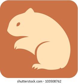 Creative Hamster Icon