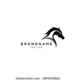 creative horse logo for a company and branding