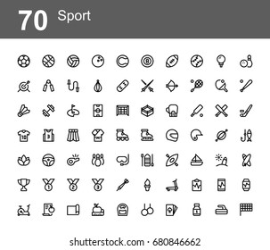 Creative icon set - sport