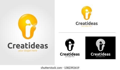 Creative Ideas Logo Template Set