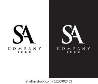 creative Initial letter sa/as abstract Company logo design. vector logo for company identity