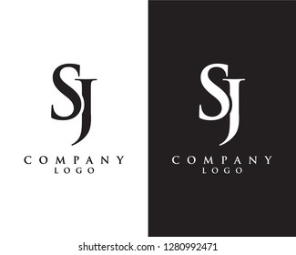 creative Initial letter sj/js abstract Company logo design. vector logo for company identity