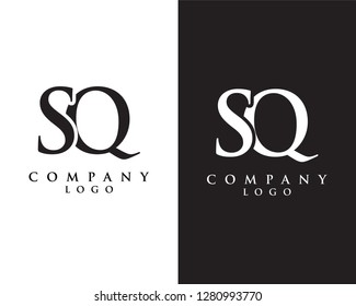 creative Initial letter sq/qs  abstract Company logo design. vector logo for company identity