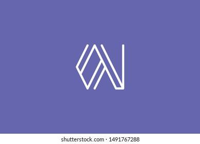 Creative Innovative Initial Letter logo OV VO. Minimal luxury Monogram. Professional initial design. Premium Business typeface. Alphabet symbol and sign.