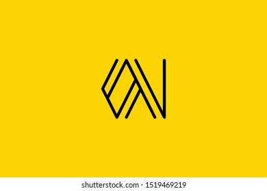 Creative Innovative Initial Letter logo ON NO OV. Minimal luxury Monogram. Professional initial design. Premium Business typeface. Alphabet symbol and sign.